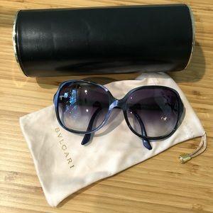 Bvlgari Bulgari Gray Purple Sunglasses 8063 5106/8G 59 15